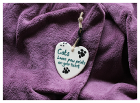 Room Plaques - Cats Paw Prints
