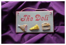 Room Plaques - The Deli